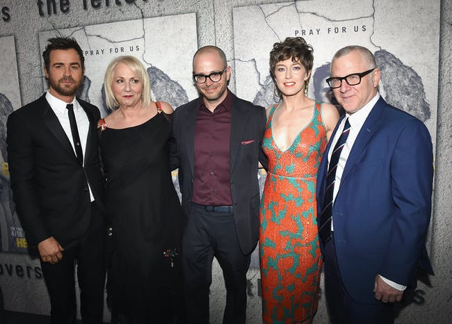 Justin Theroux, Mimi Leder, Damon Lindelof, and Tom Perrotta for 'The Leftovers' Season 3 in Los Angeles