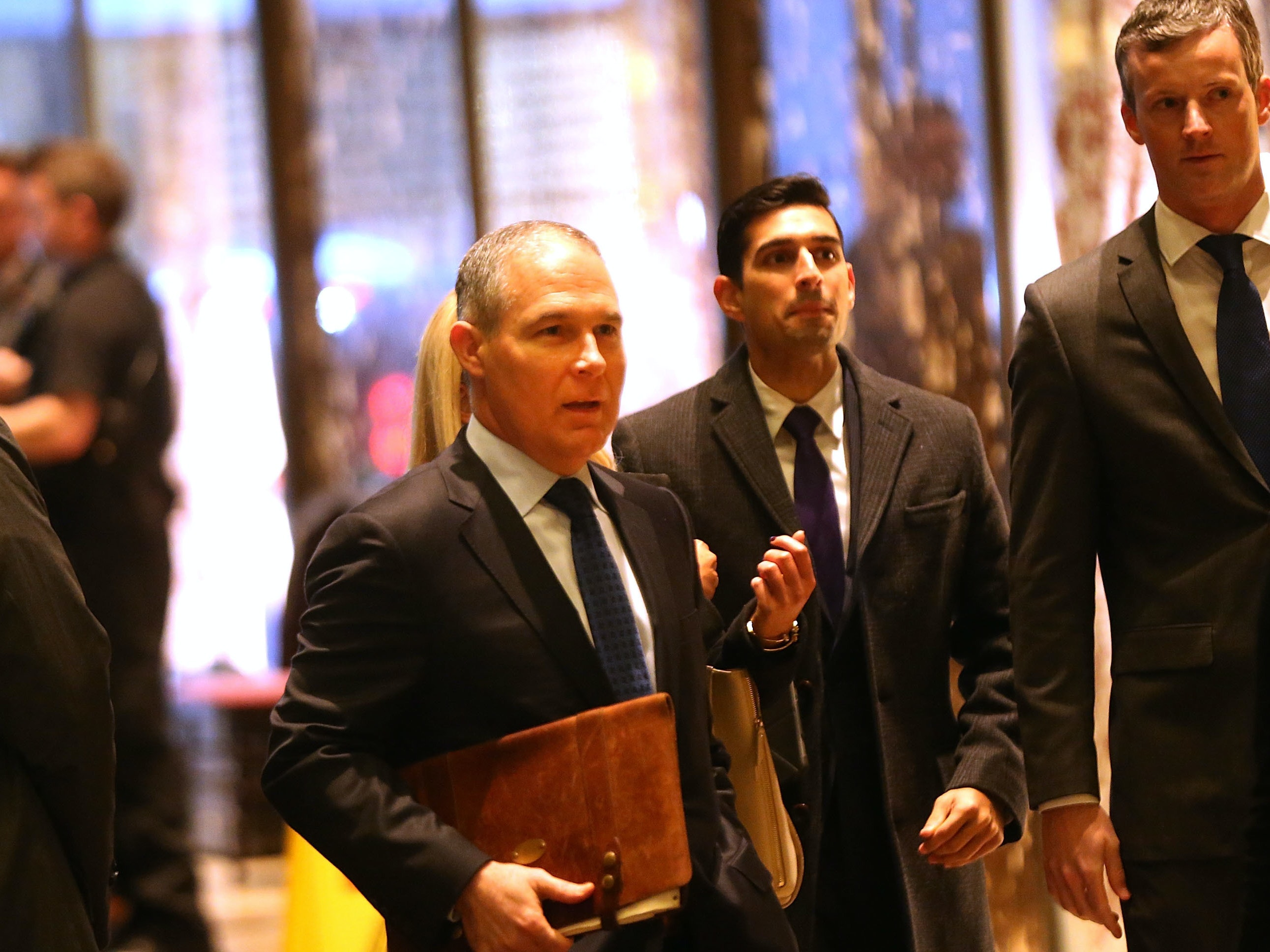 Three Climate Change Denials by Scott Pruitt, Trump's EPA Pick