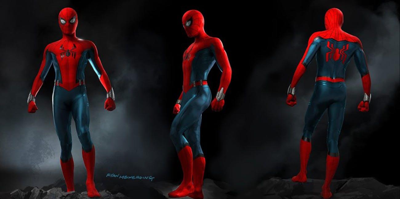 Spider-Man Disneyland Avengers Campus