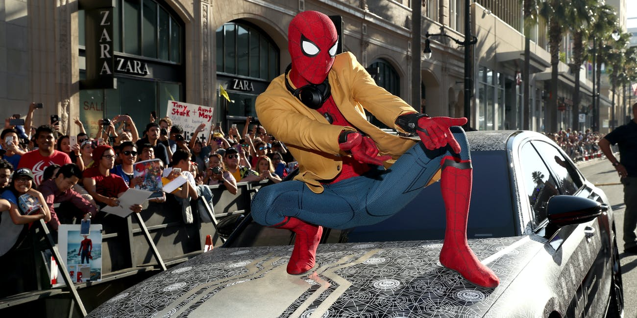 Spider-Man Homecoming Costume