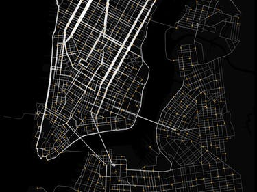 This Citi Bike Data Map Reveals the Ultimate NYC Cycle Routes