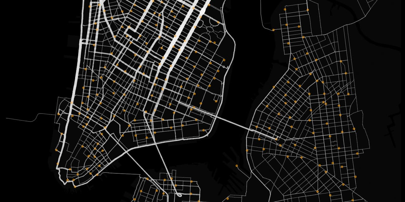 This Citi Bike Data Map Reveals the Ultimate NYC Cycle ... Citibike Maps on nyc school district map, bronx zip code map, proof of success map, hubway map, nyc bus map, nyc train map,