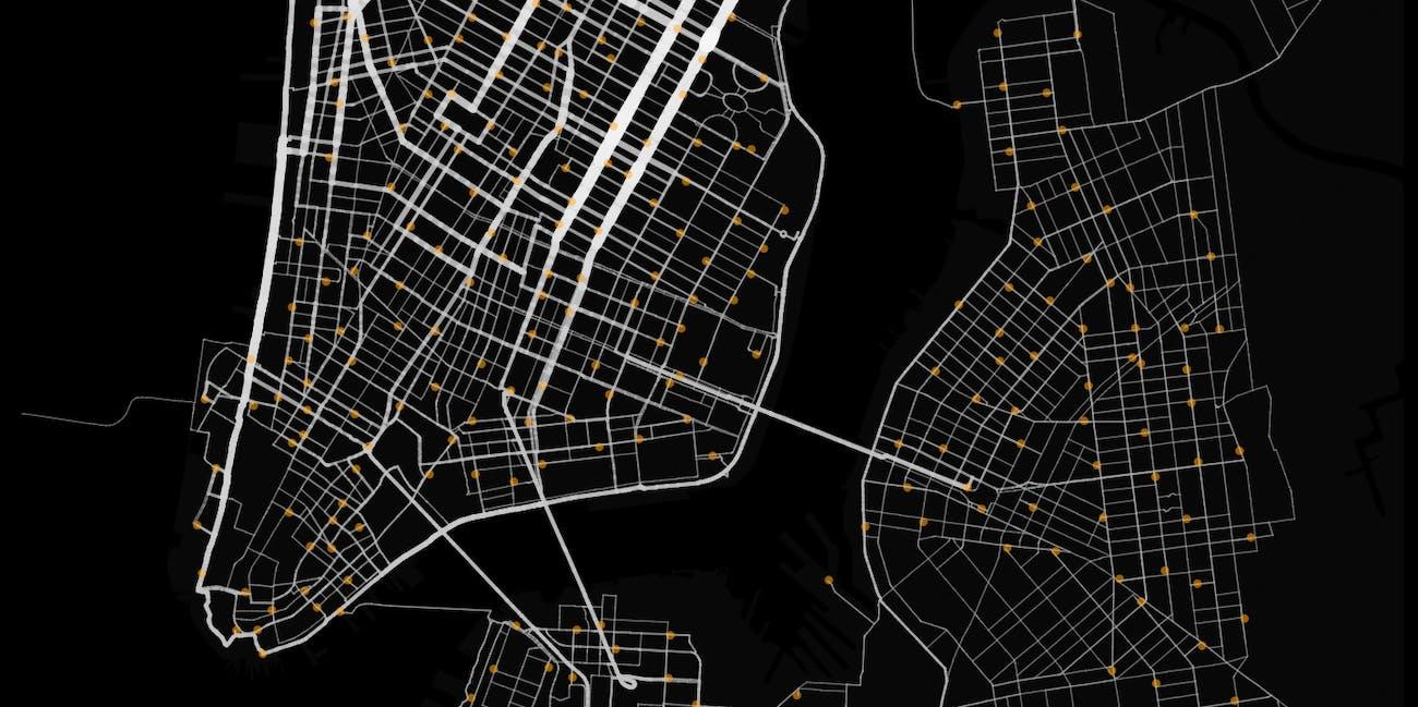 Citi Bike Map Nyc on