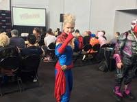 captain marvel cosplay nycc 2018