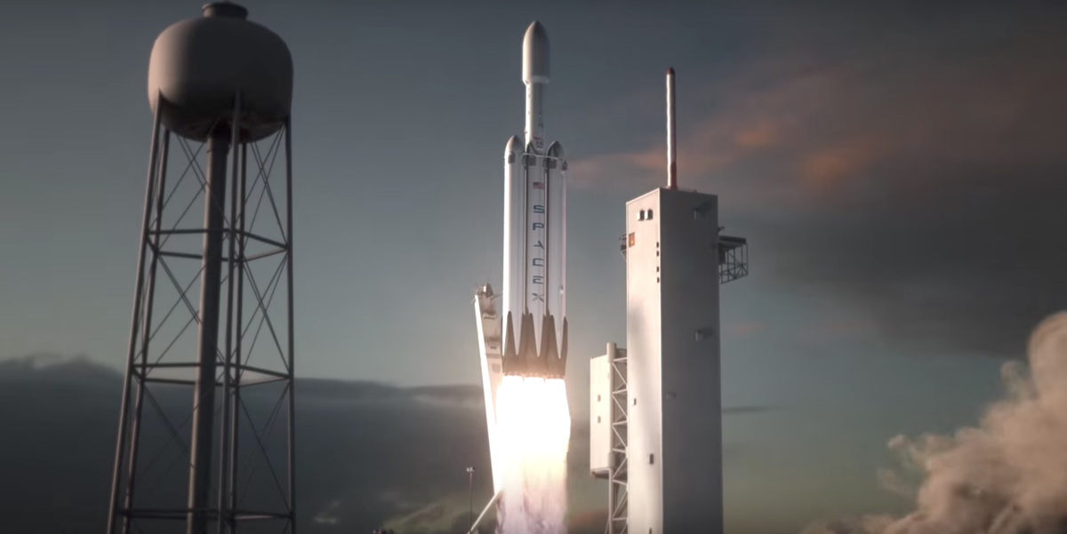 SpaceX CEO Elon Musk Gives Date for Falcon Heavy Test ...