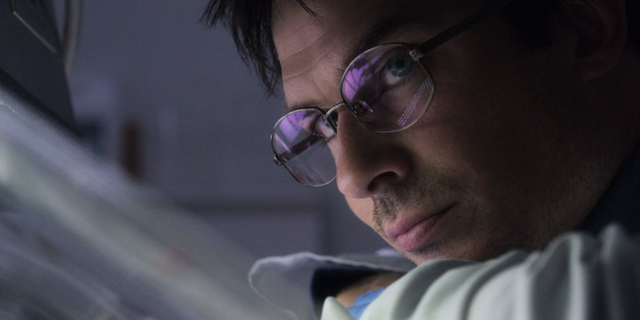 Ian Somerhalder as Dr. Luther Swann in Netflix's 'V Wars'