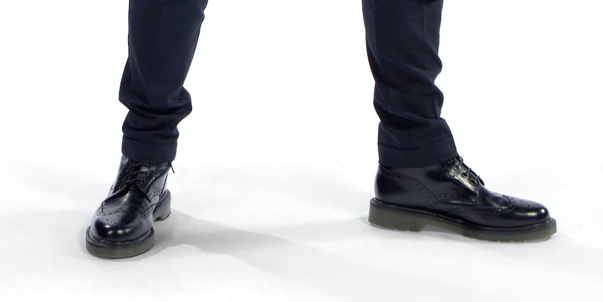 Twelfth Doctor Peter Capaldi Boots Shoes