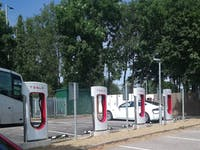 tesla supercharger UK