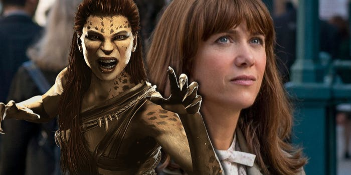 Cheetah Kristen Wiig Wonder Woman