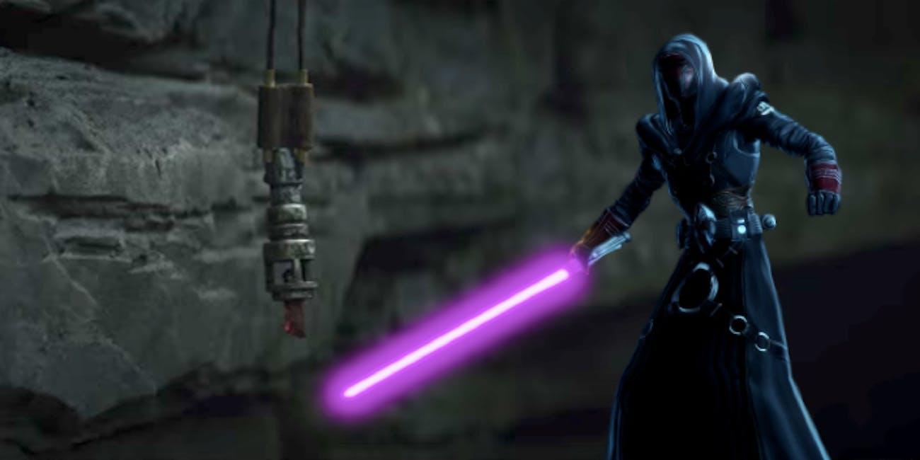 Was the Jedi Crusader kyber crystal in Luke's possession originally Revan's?