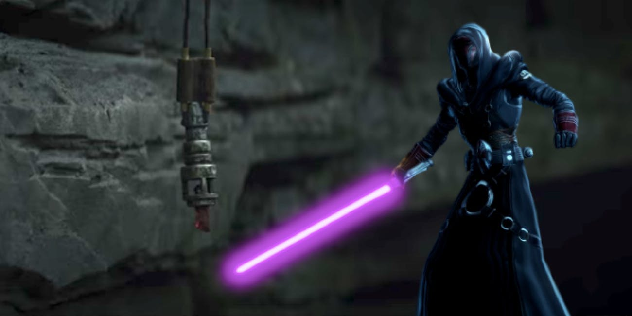 Was the Jedi Crusader kyber crystal in Luke's possession originally Revan's?