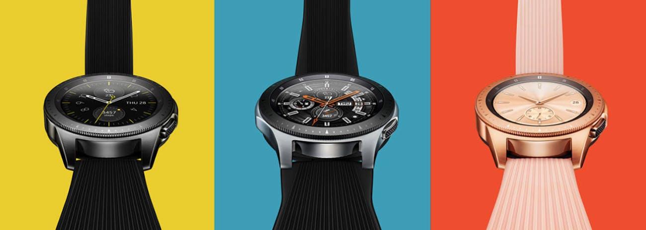 Samsung Reveals More Ways to Use Its Stylish Galaxy Watch