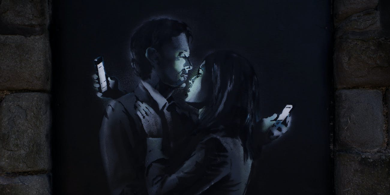 "Banky's ""Mobile Lovers."""