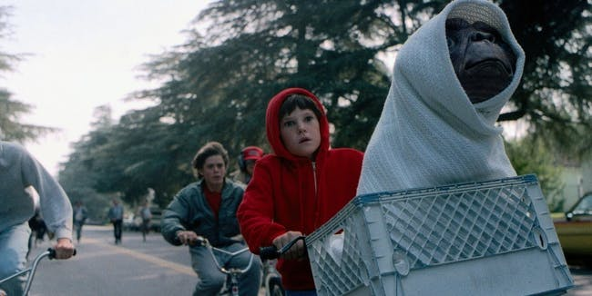E.T. the Extra Terrestrial Oscars Best Picture nominees science fiction