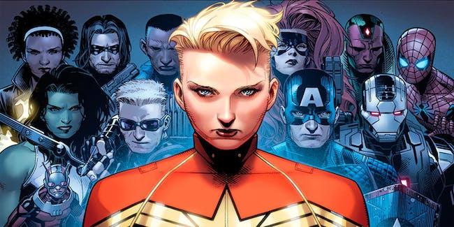 Captain Marvel in Marvel's Civil War II