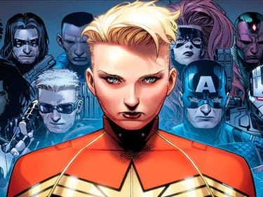 Captain Marvel in Marvel's Civil War II