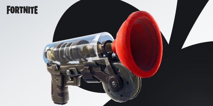 fortnite update 5.40 grappling gun