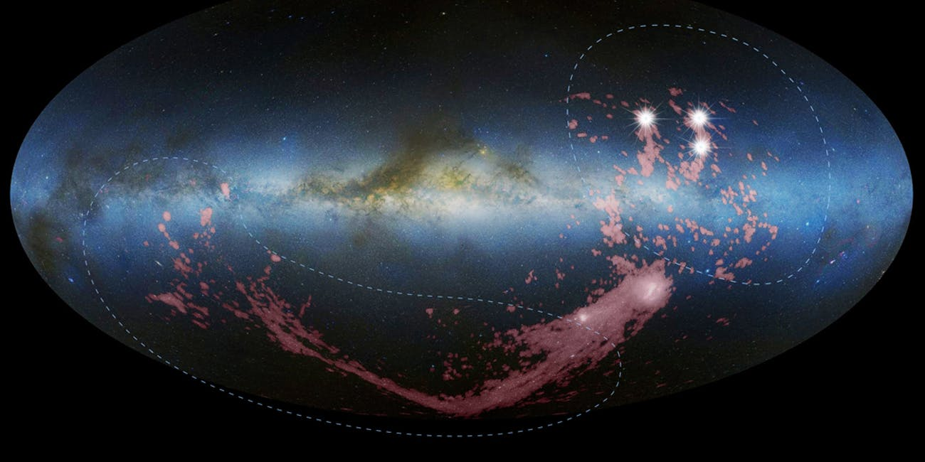 Hubble settles a galactic tug-of-war