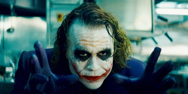 dark knight heath ledger joker