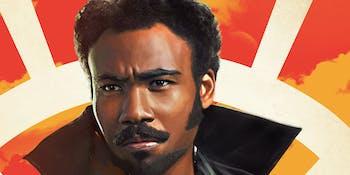 Donald Glover as Lando Calrissian in 'Solo'