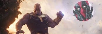 Deadpool 2 Avengers Infinity War
