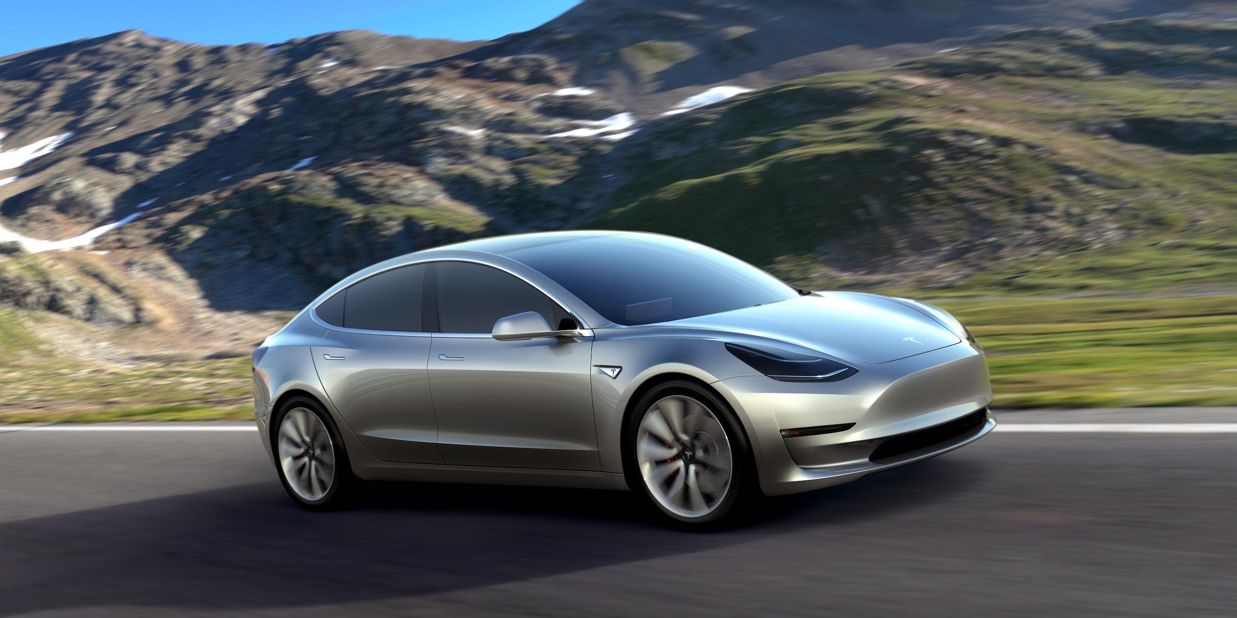 The Tesla Model 3