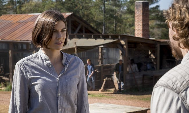 Maggie's changed a lot on 'The Walking Dead'.