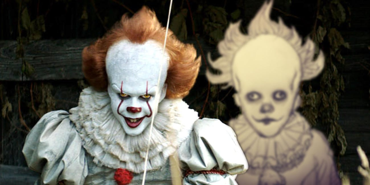 it concept art proves pennywise was always terrifying inverse
