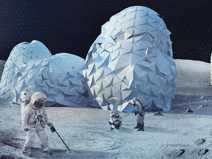 Here Are Three Wondrous Visions for a Future Colony on the Moon
