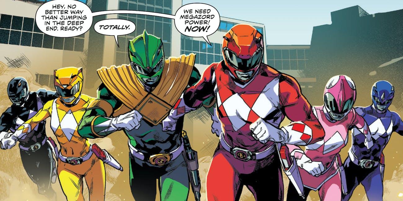 Power Rangers BOOM Comics