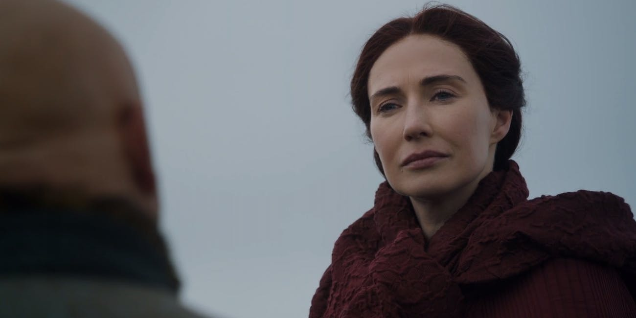 Melisandre and Varys in 'Game of Thrones' Season 7