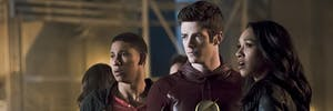 Wally, Barry, and Iris on 'The Flash.'
