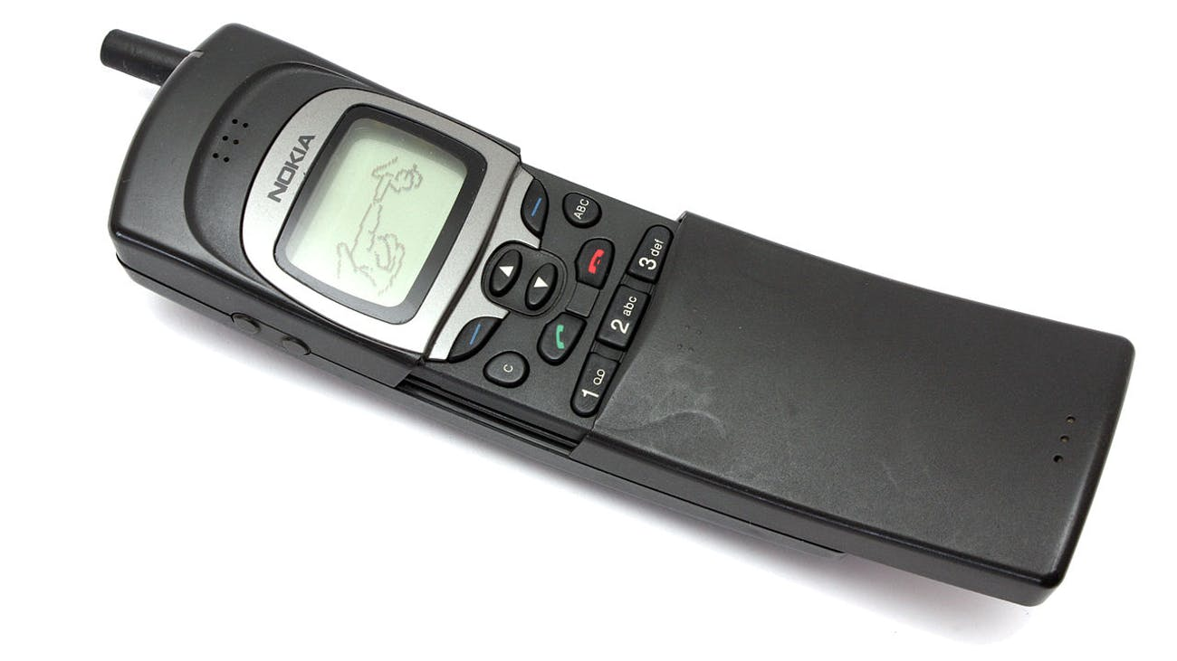 The original Nokia 8110.