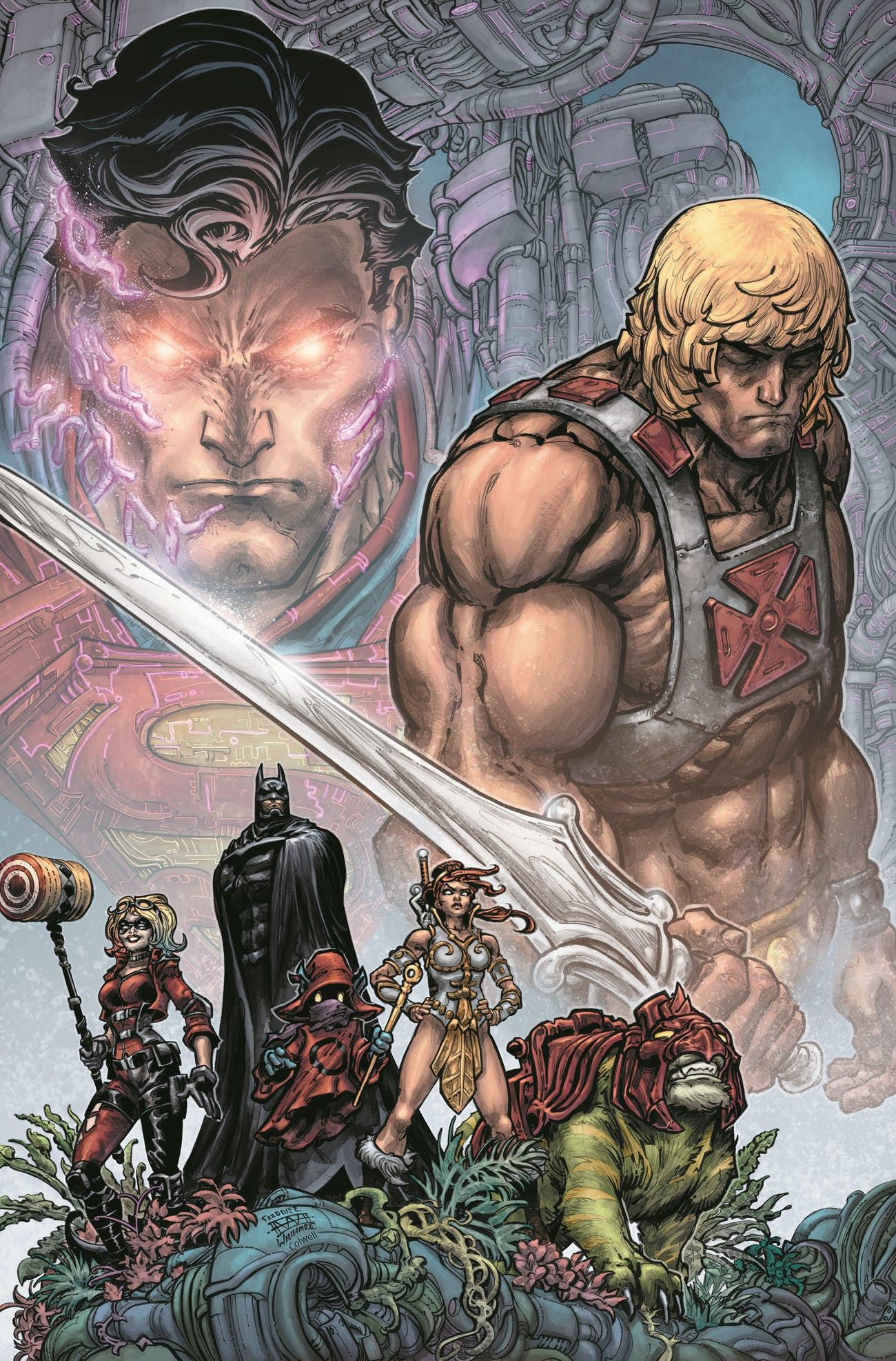 DC Superman He-Man Masters of the Universe