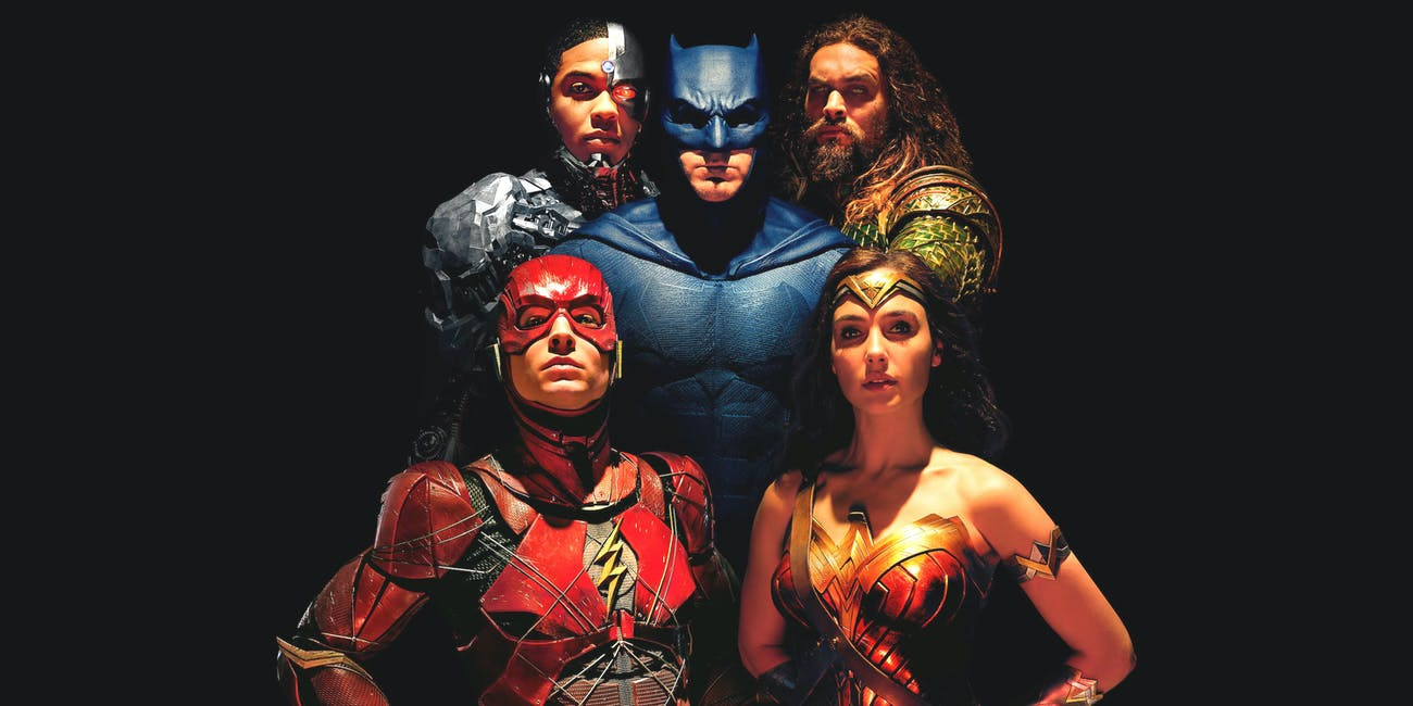 Cyborg, Aquaman, Batman, The Flash, Wonder Woman -- 'Justice League'