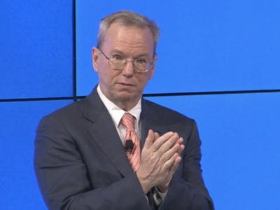 """Google's Eric Schmidt on Self-Driving Cars: """"It's Time to Make It Legal"""""""