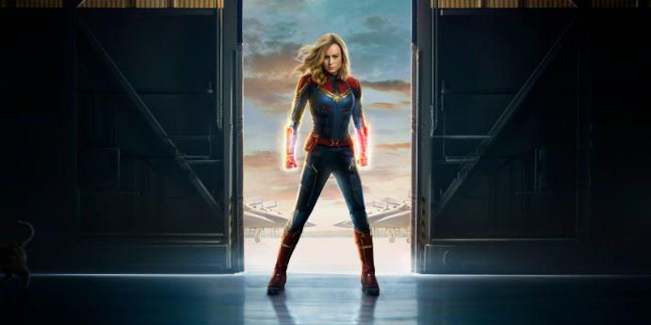 'Captain Marvel' poster