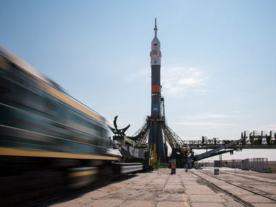 Soyuz-FG Launches New Crew on a Four-Month Mission at the ISS