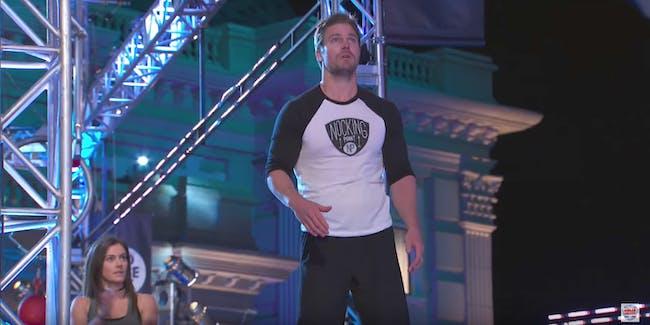Ninja Warrior Stephen Amell