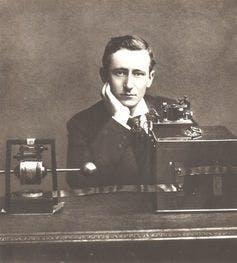 Guglielmo Marconi, inventor of the radio.