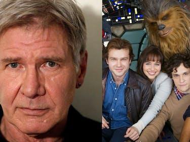 Harrison Ford Jokes That Han Solo Is Alive in 'The Last Jedi'