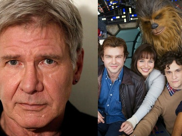 Harrison Ford Jokes That Han Solo Is Alive in 'The Last Jedi'