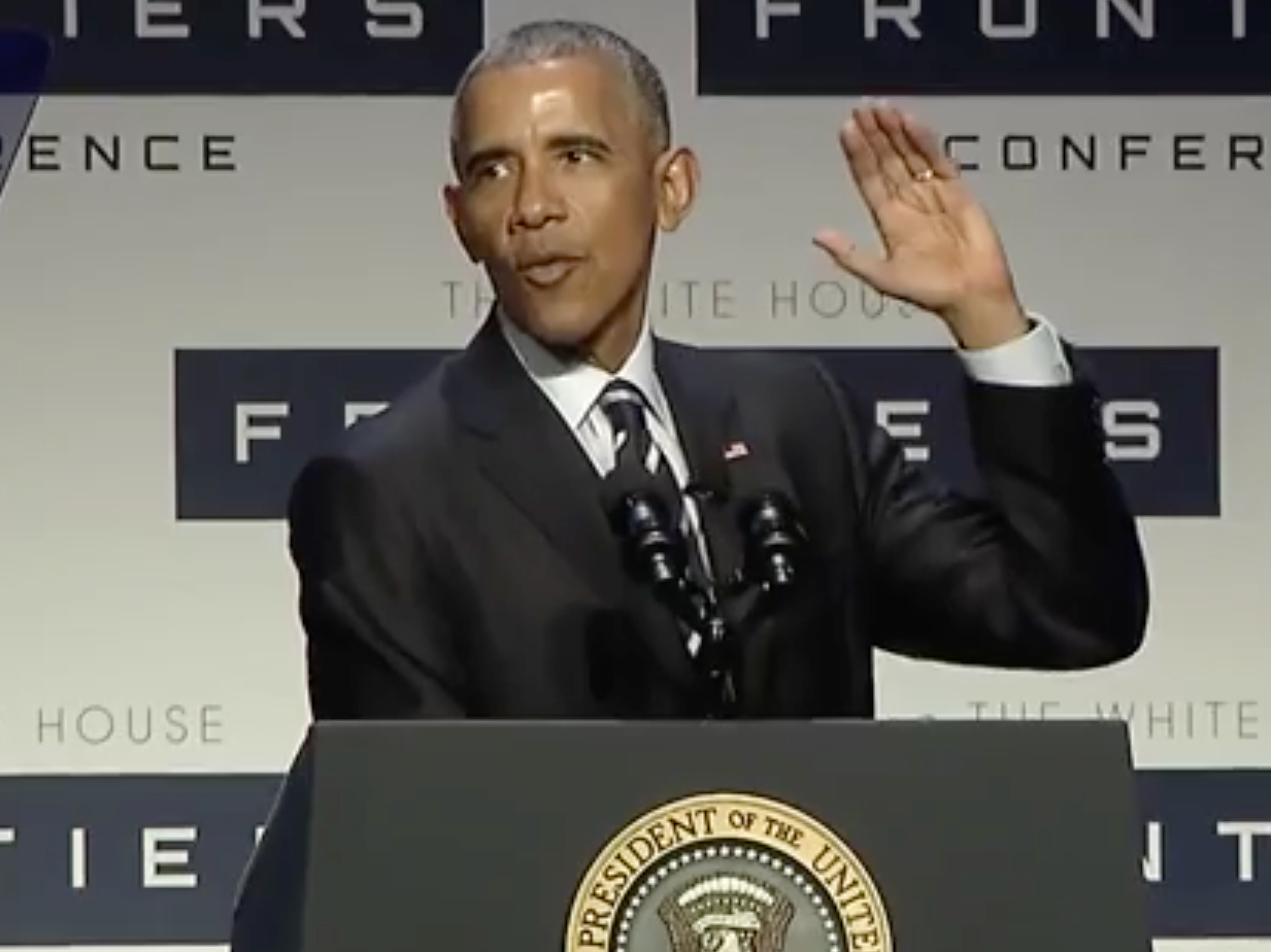 "Obama Says ""I'm a Nerd! And I Don't Make Any Apologies for It."""