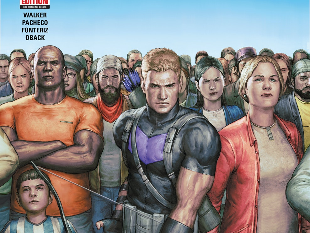 Hawkeye Will Defend the Average American in 'Occupy Avengers'