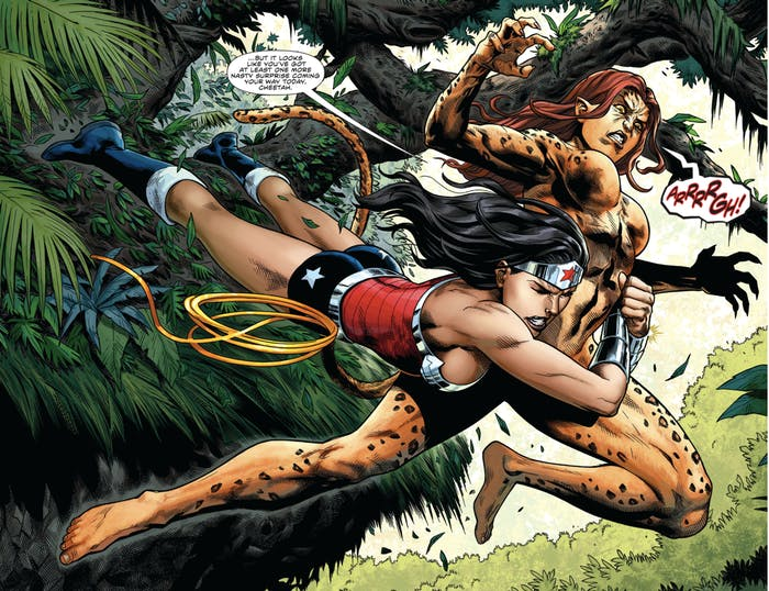 Cheetah is one of Wonder Woman's greatest rivals.