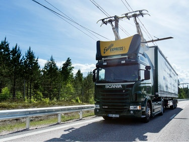 Sweden Debuts Its First Electric Highway