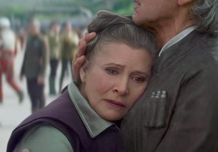 Princess Leia Handling Death Episode IX