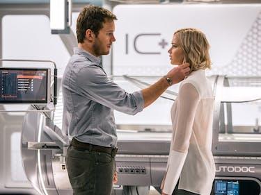 "Critics Don't Like ""Sci-Fi Stockholm Syndrome"" Story 'Passengers'"