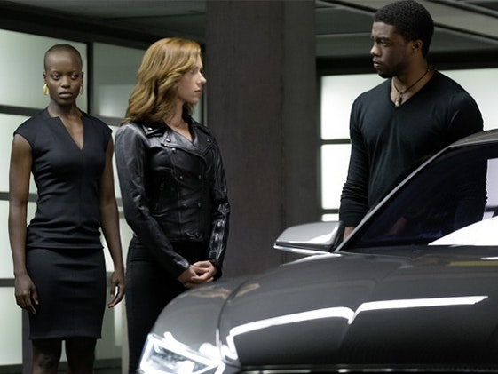 The Dora Milaje, Black Panther's Female Wakandan Bodyguards, Stole 'Civil War'