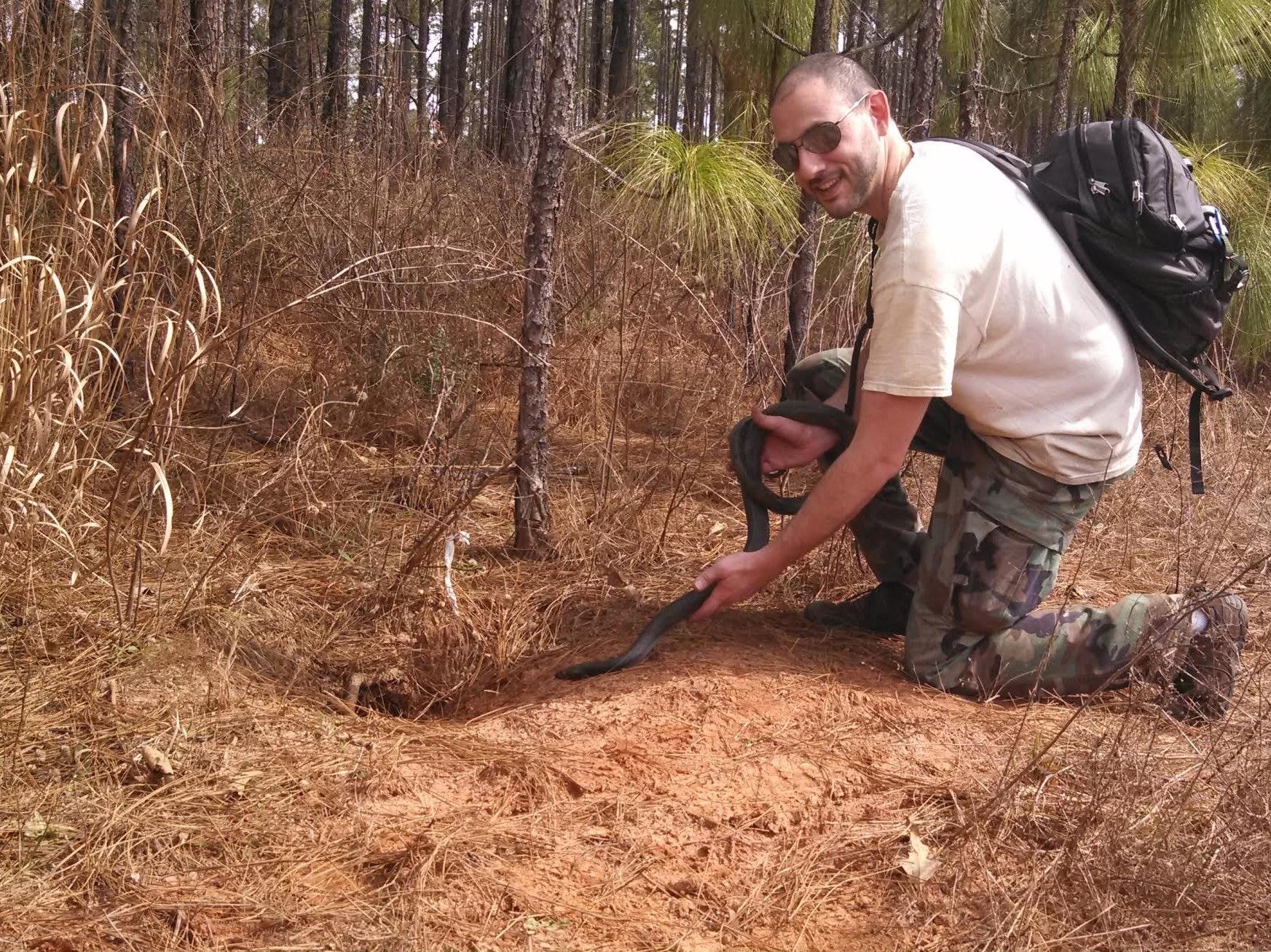 Meet Dr. David Steen, the Man Saving Snakes on Twitter